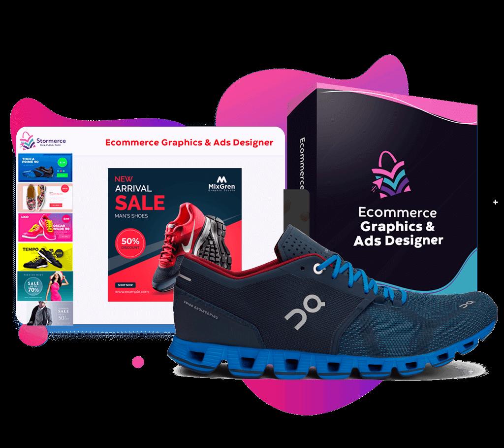 Ecommerce Graphics & Ads Designer