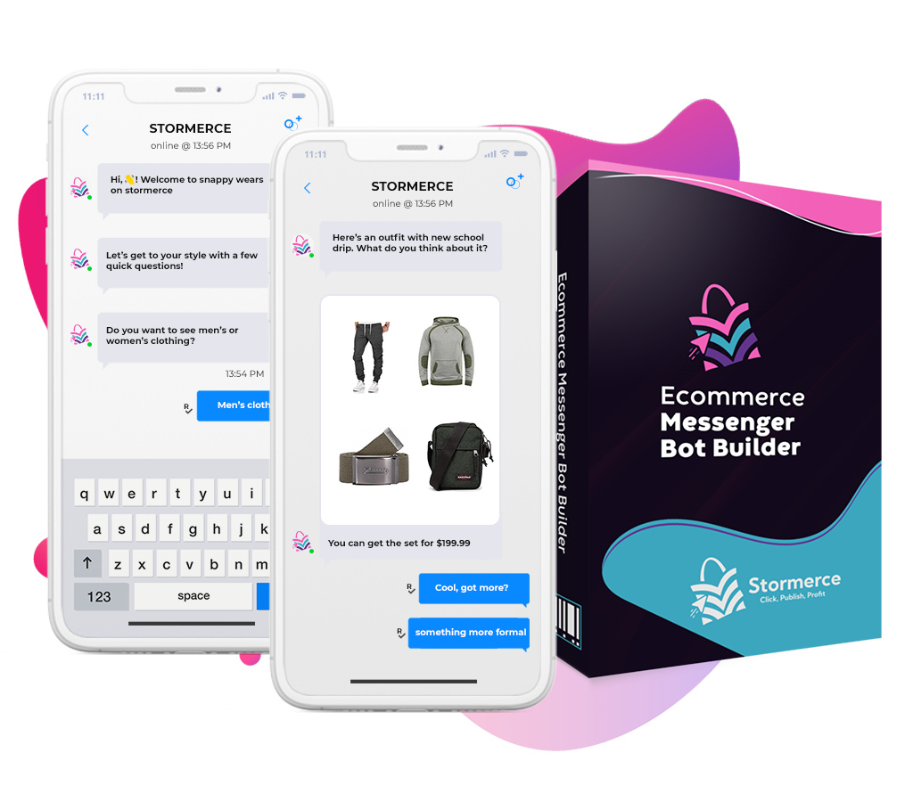 Ecommerce Messenger Bot Builder