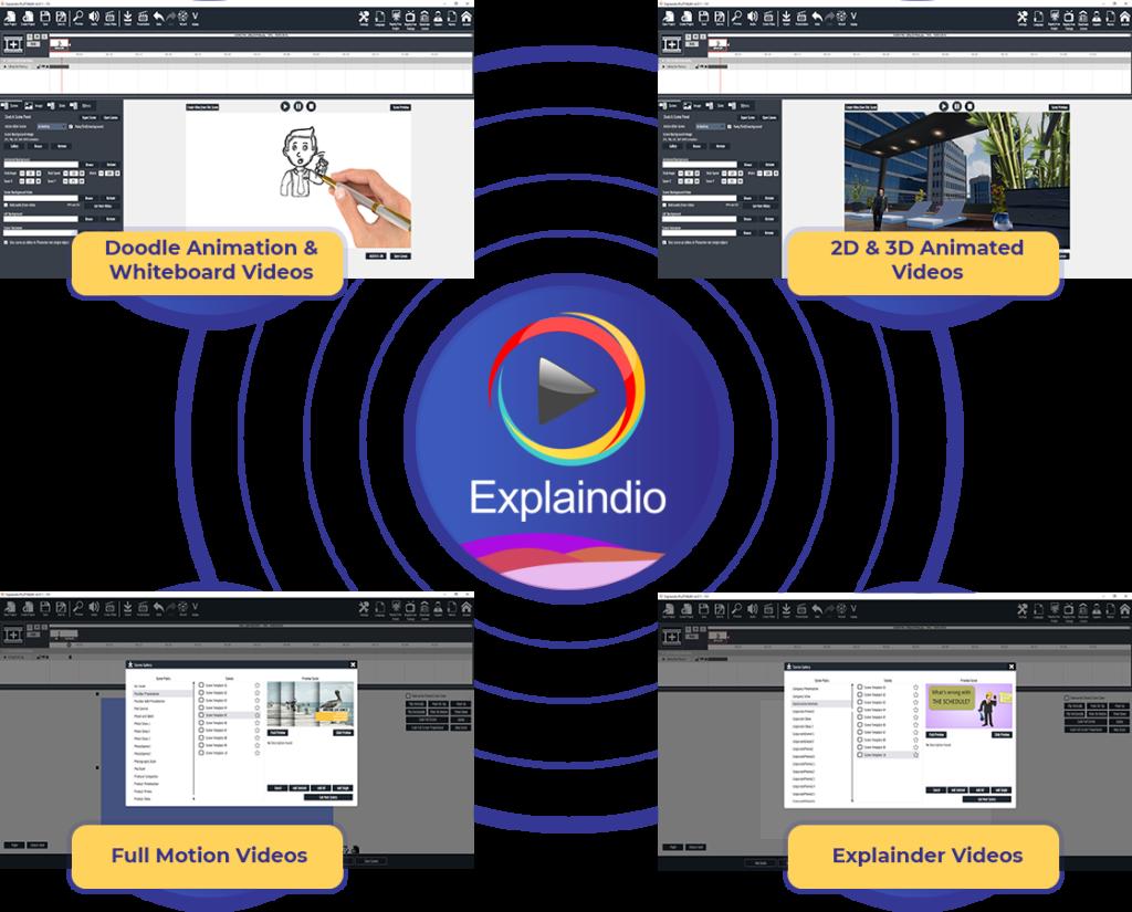 Explaindio 4.0 Animation studio