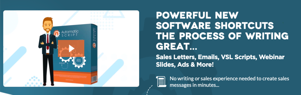 Automatic Script Review writing great copy