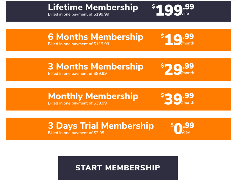 ecomlad pricing for membership