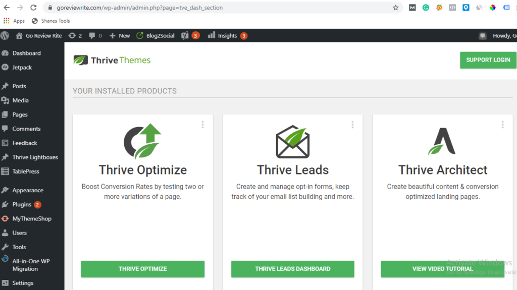 Thrive Leads Review- Thrive Themes Review