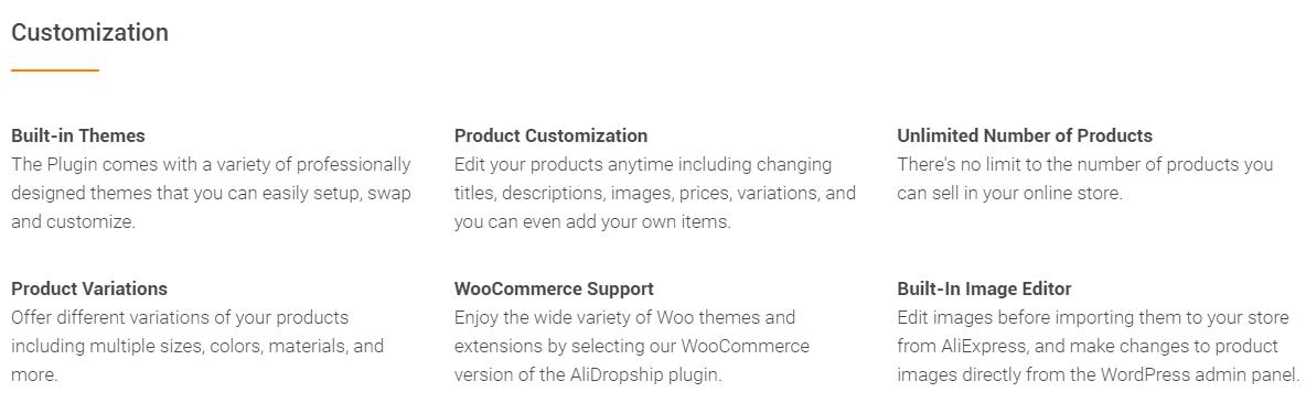 WooCommerce Enhancement with alidropship plugin