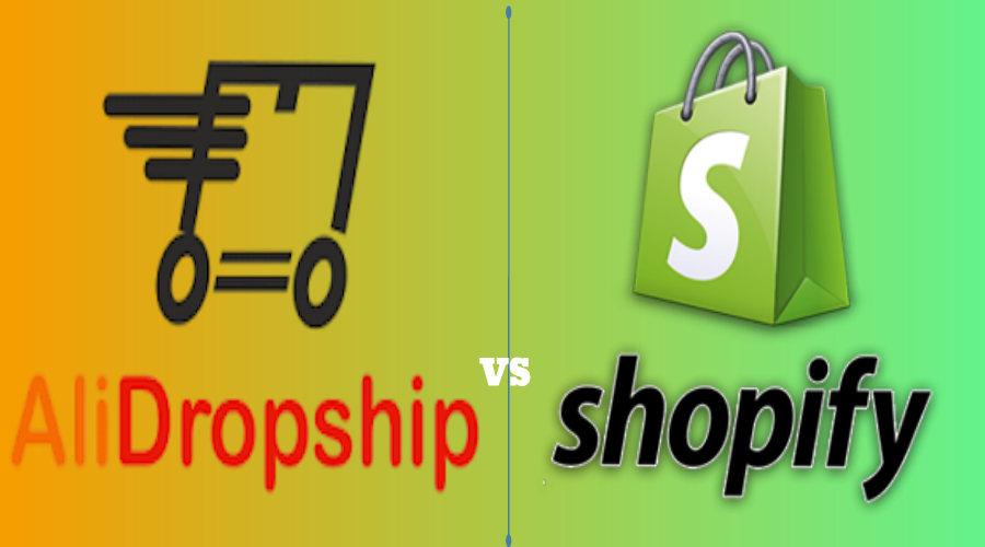 Alidropship vs Shopify; Is AliDropship better than Shopify