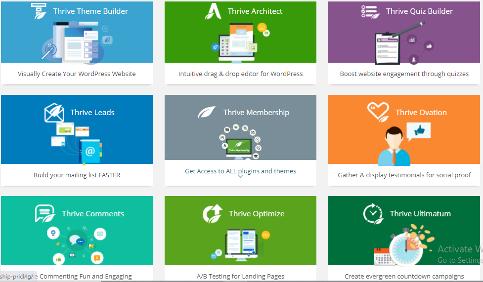 thrive theme multiple Themes, Plugins, and Templates