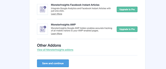 use monsterinsight to track file downloads in Google Analytics
