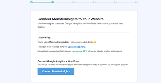 install MonsterInsights on your WordPress site