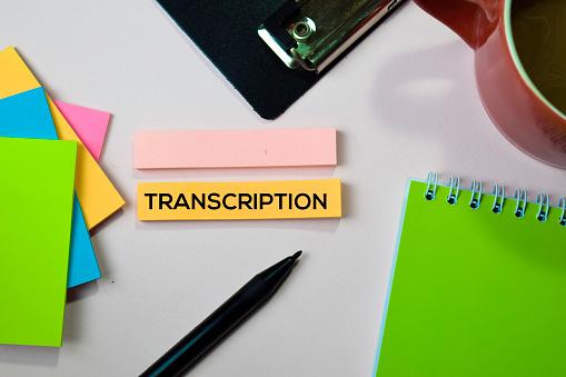 Fiverr Gigs For Transcription