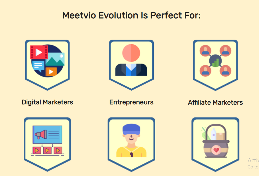 Meetvio Evolution Is Perfect For: