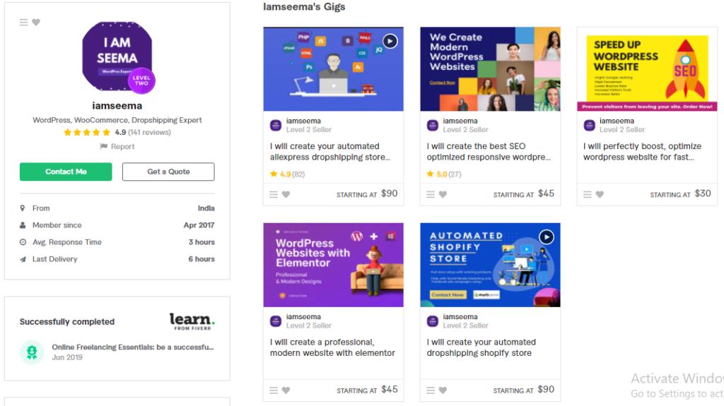 Best WordPress  eCommerce Developer on Fiverr