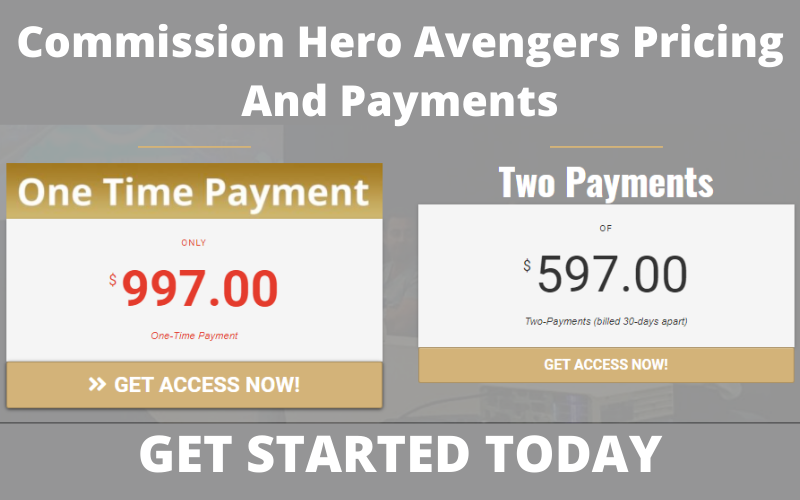 Commission Hero Pricing And Payments