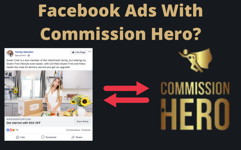 How Do Facebook Ads Work With Commission Hero?