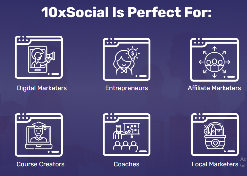 Who Should Buy Or Use 10xSocial