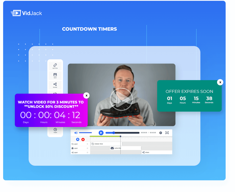 7-timer Sales videos with vidjack review