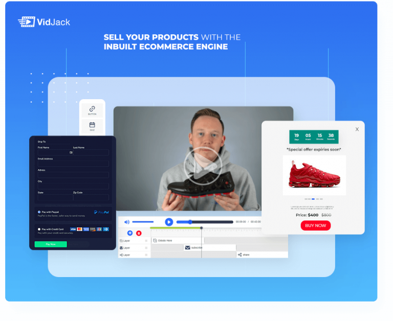 eCom Product demo with vidjack review