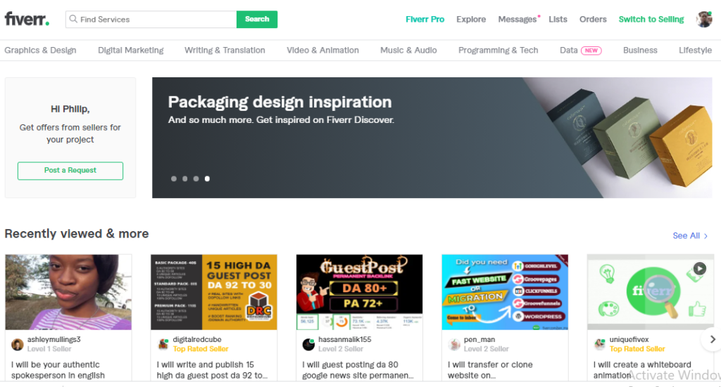 20% Off  With Fiverr gigs Promo Code