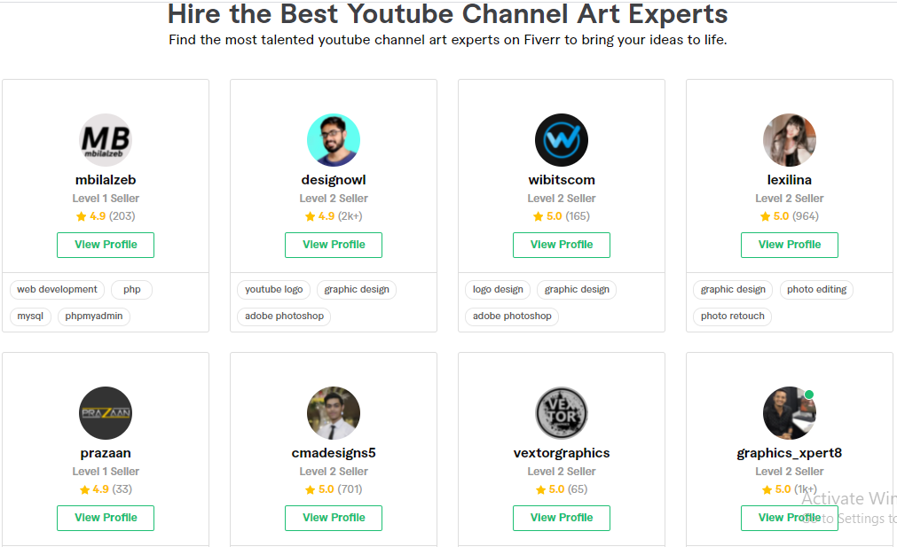 Start A YouTube Channel With Fiverr  youtube channel art Gigs