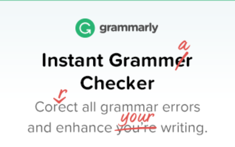 Grammarly Spelling Checker Tool