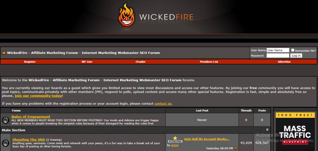 WickedFire Affiliate Marketing Forums
